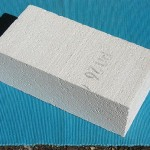 Lightweight insulating fire brick.