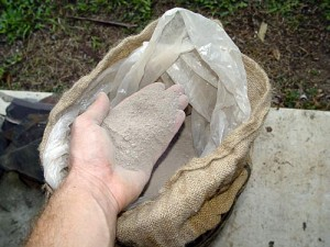 Fire Clay packed in bag