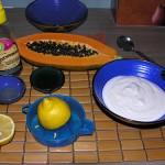 Papaya dessert recipe