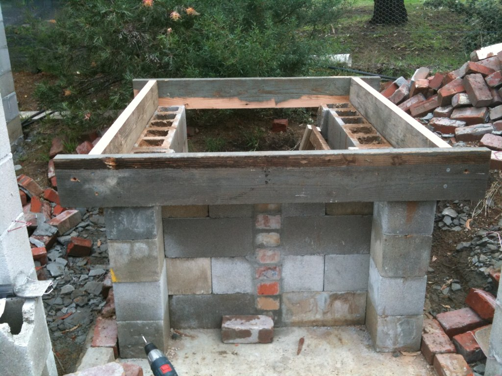 build wood burning oven