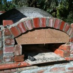 Frong brick arch decoration.