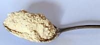 The chestnut flour image.