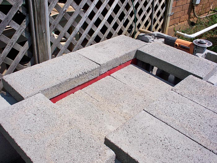 angle iron pavers work