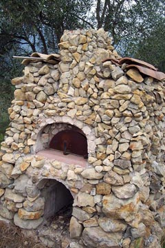 Stones as a natural building material.