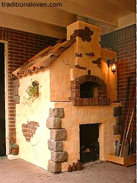 Picture of my best wood fire oven for bread, pizza and roasts cooking.