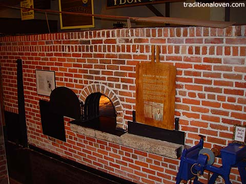 Photo of Large bakery Cuban wood ovens.