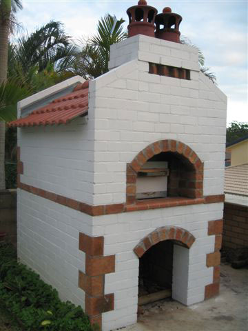 Bricklayer oven.