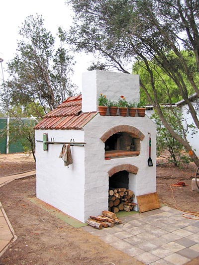 Masterly tail oven design, modified building.