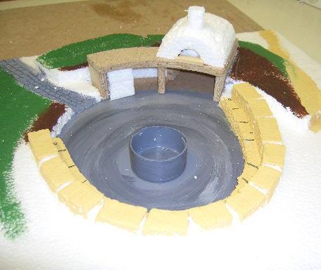 Plans and oven design maket.