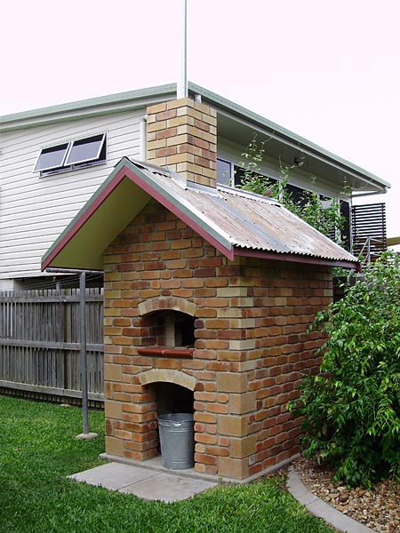 How to scrounge up majority of the project material for building this wood burning oven.
