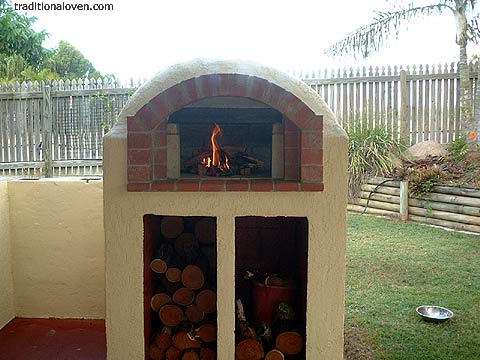 Smaller Sized And Simpler Constructed Brick Dome Ovens