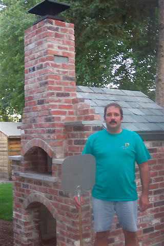Very nice brick work by Steven Gronski aka G-Man.
