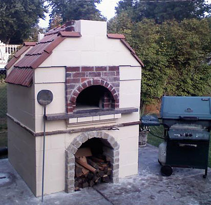 Stillwater swishy pizza oven.