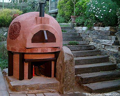 Peruvian wood fired oven in Adelaide, Australia.