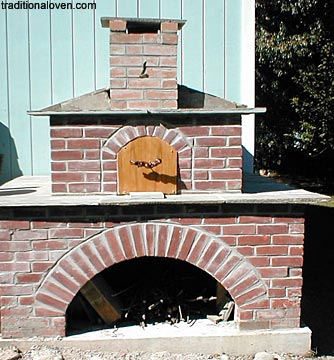 Red building bricks, blue stone masonry work picture.