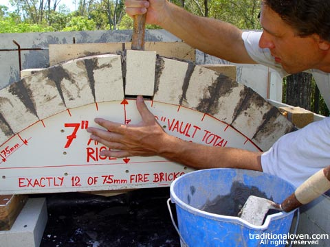 Picture of Re: Vault - firebricks preparation. Photo