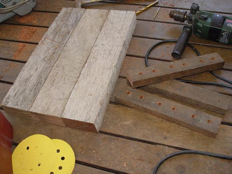 Making A Wooden Door For Wood Burning Oven Baking Bread