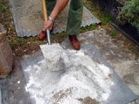Refractory concrete mixing recipe | Heat resistant concrete