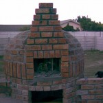 Igloo pizza oven in Cape Town, South Africa.