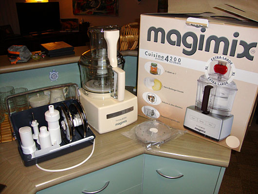 Magimix 4200 xl food processor by cuisine for Cuisine 5100 magimix