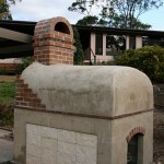 MTo wood burning oven built in Brisbane.
