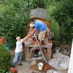A pizza oven I built for my father in law this year.