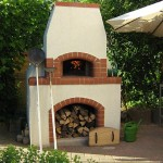 Pizza oven built for my father-in-law's birthday.