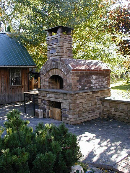 Pizza oven can increase value of a real estate.