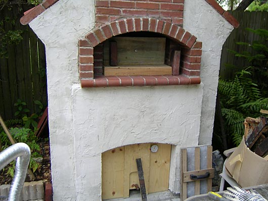 Oven With Adapter To Cold Smoke In It