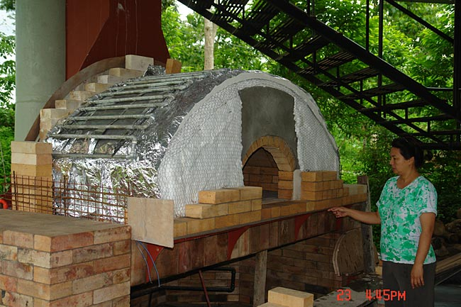 My Brick Oven Amp Fireplace Cook Food And Heat Water