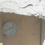 Thermometer used in cold smoker.