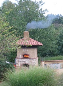 Pompeii firebrick pizza oven project.