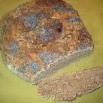 Bread baked in Pompeii oven.