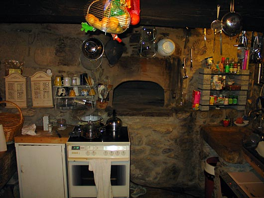 Stone Oven In A 1807 Kitchen