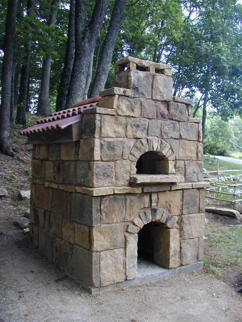 Oven In Appalachian Mountains Of Kentucky