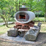 My pizza oven plans completed.