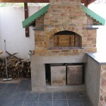 Perfect wood fired pizza oven.