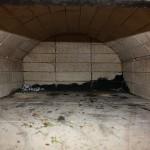 the backofen firebrick dome inside