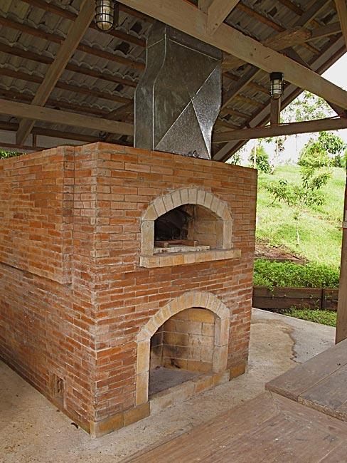 Philippines Brick Pizza Oven