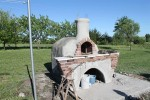 Constructing pizza oven