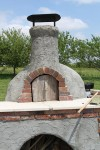 Firebrick oven for pizza