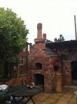 Reclaimed chimney clay pot