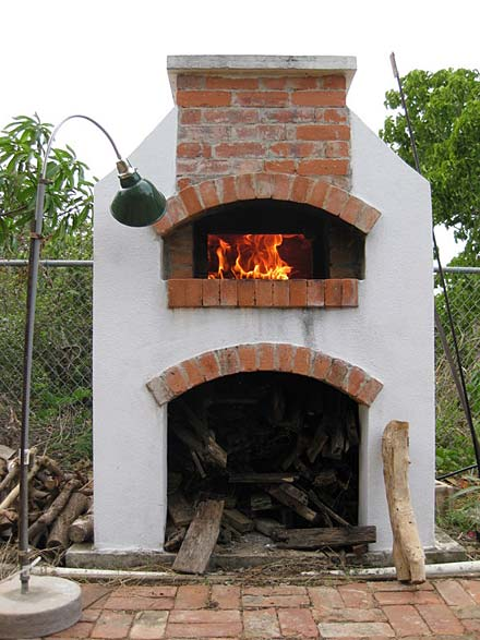 Pizza oven built in Anguilla