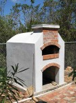 brick pizza oven built in Caribbean Anguilla