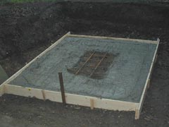 Slab for cottage oven