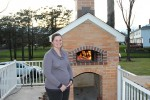 Liz and their brick oven