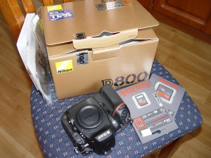 Nikon D800 new in box.