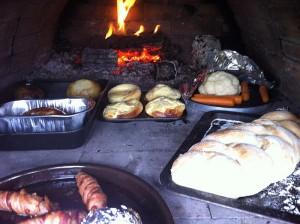 Sunday roast including Yorkshire puddings