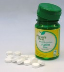 L-Lysine 500mg tablets from Nature's Own