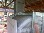 metal framing oven casing